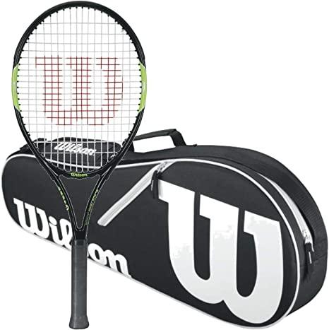 WILSON Blade Team Racchetta da Tennis Junior con Una Borsa da